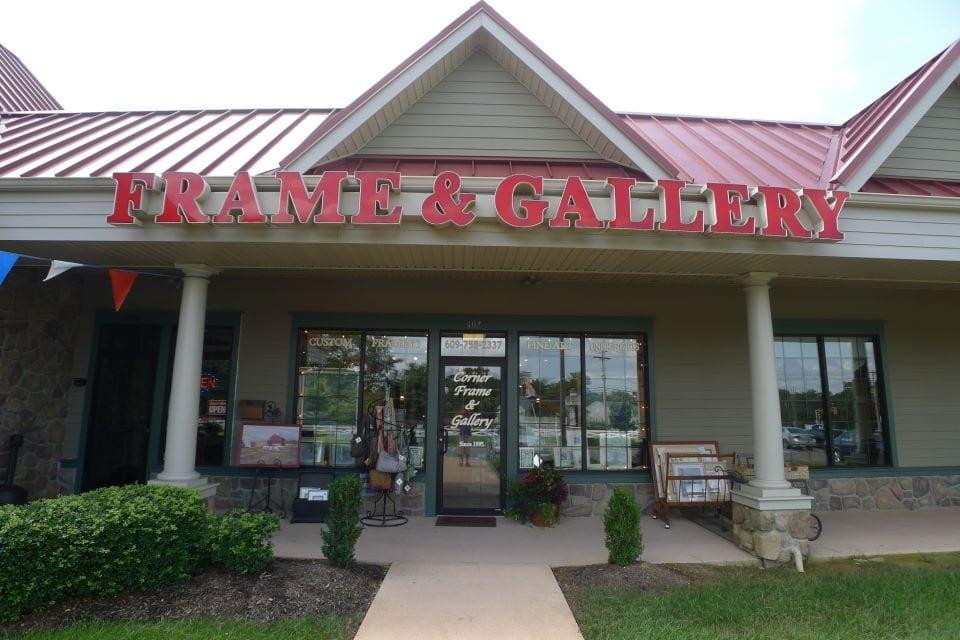 Corner Frame & Gallery